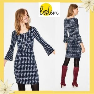 Boden Miriam Jersey Tunic 3/4 Sleeved Tops